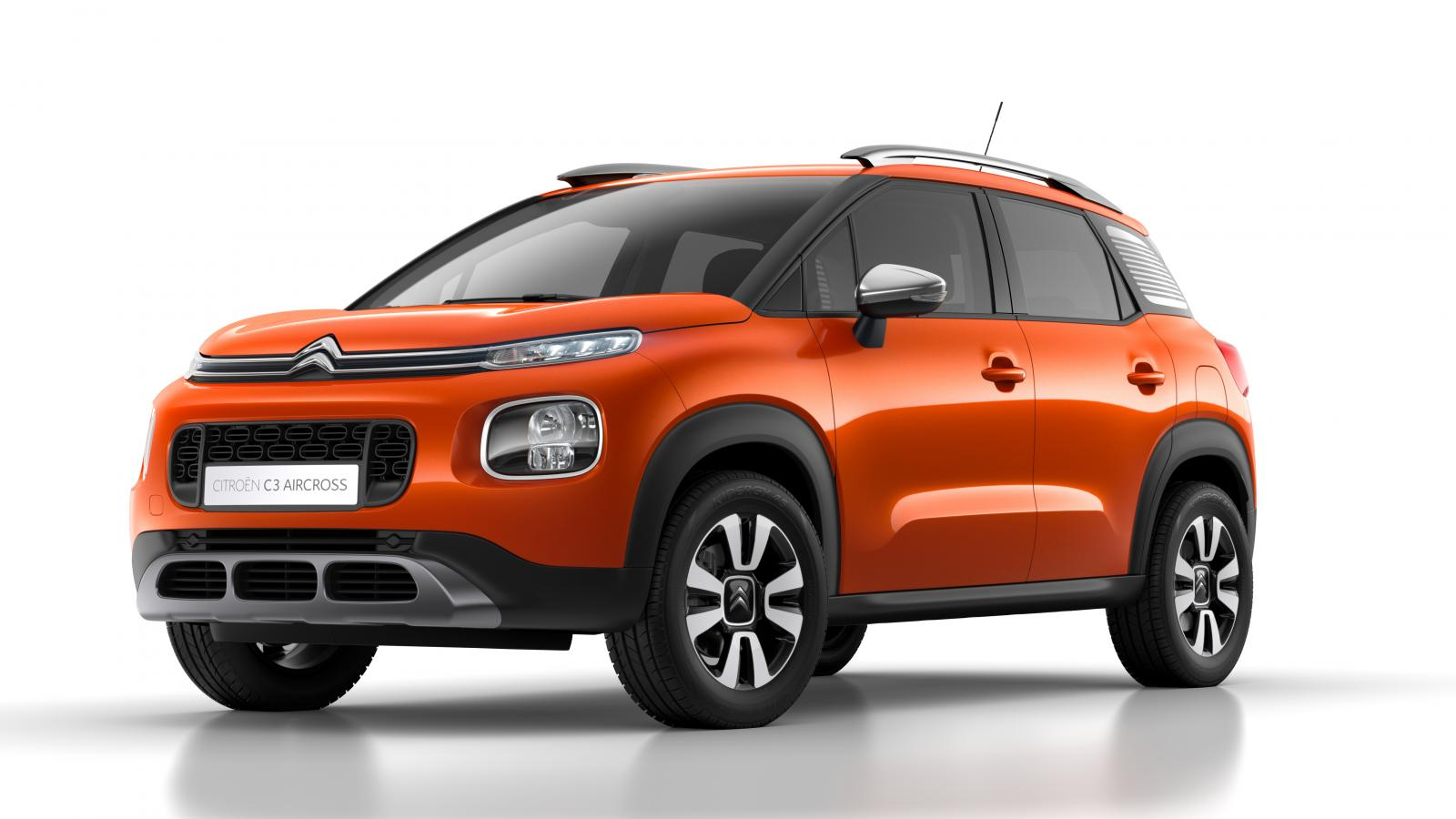 Compact SUV C3 Aircross Power-Orange