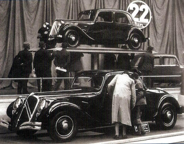 Traction 22 Faux-Cabriolet 1934
